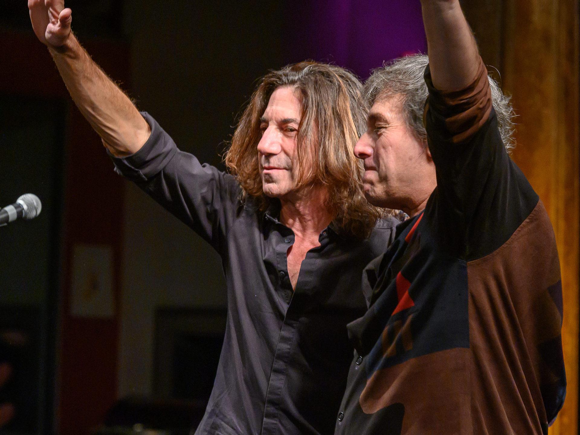 21. Oktober 2019 – Peppino D'Agostino und Stef Burns